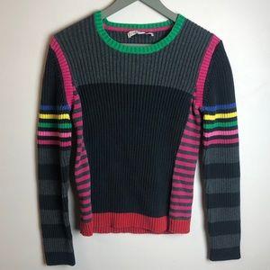 Tommy Hilfiger 80s 90s Vintage Stripe Sweater